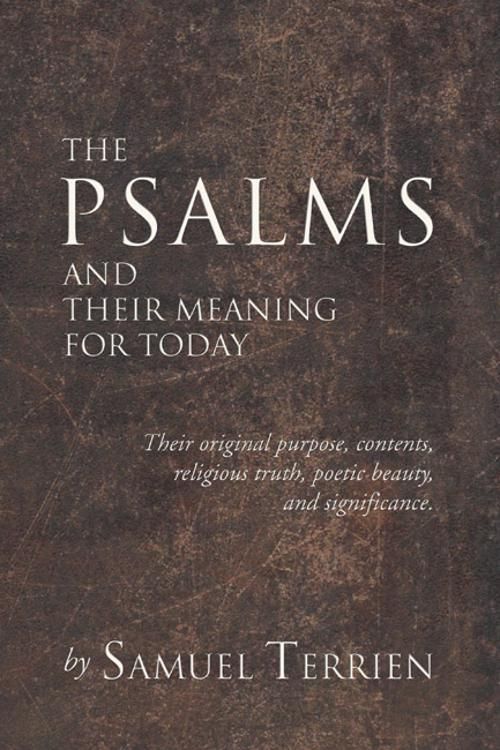 The Psalms and Their Meaning for Today