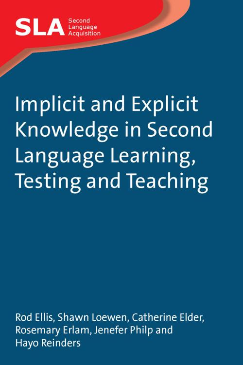Implicit and Explicit Knowledge in Second Language Learning, Testing and Teaching