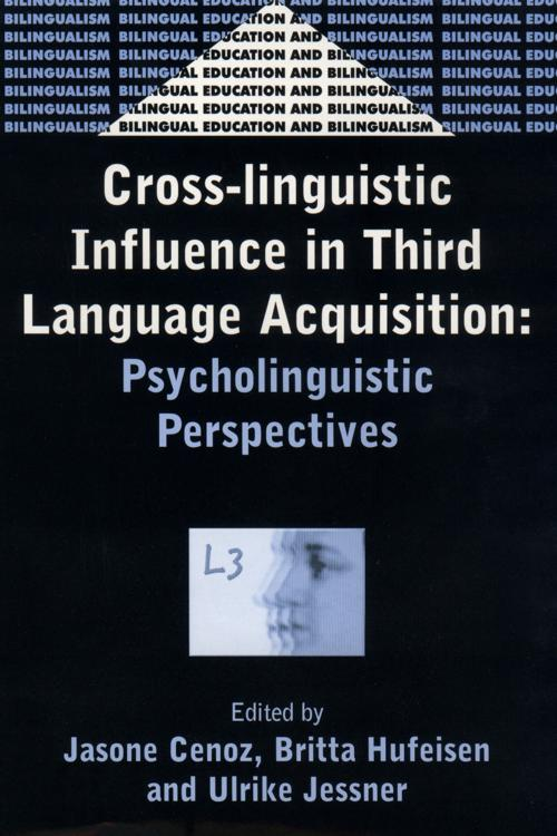 Cross-Linguistic Influence in Third Language Acquisition