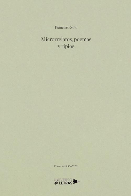 Microrrelatos, poemas y ripios