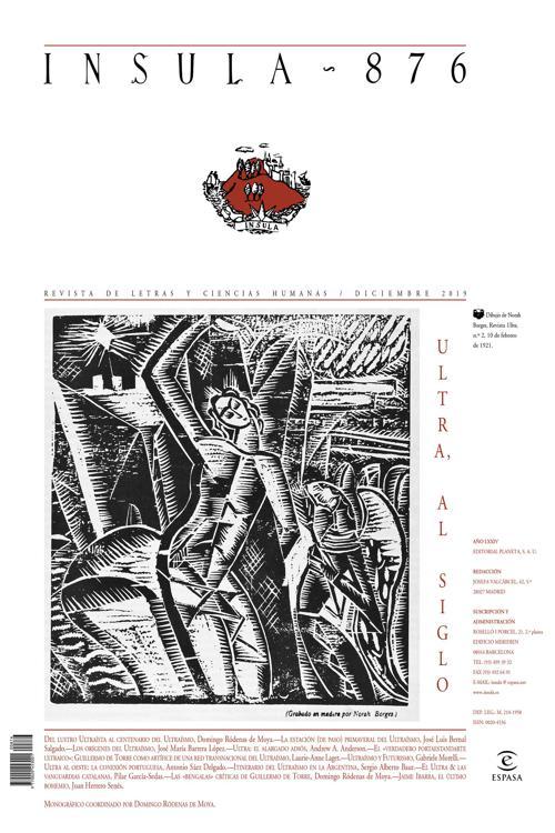 Ultra, al siglo (Ínsula n° 876, diciembre de 2019)