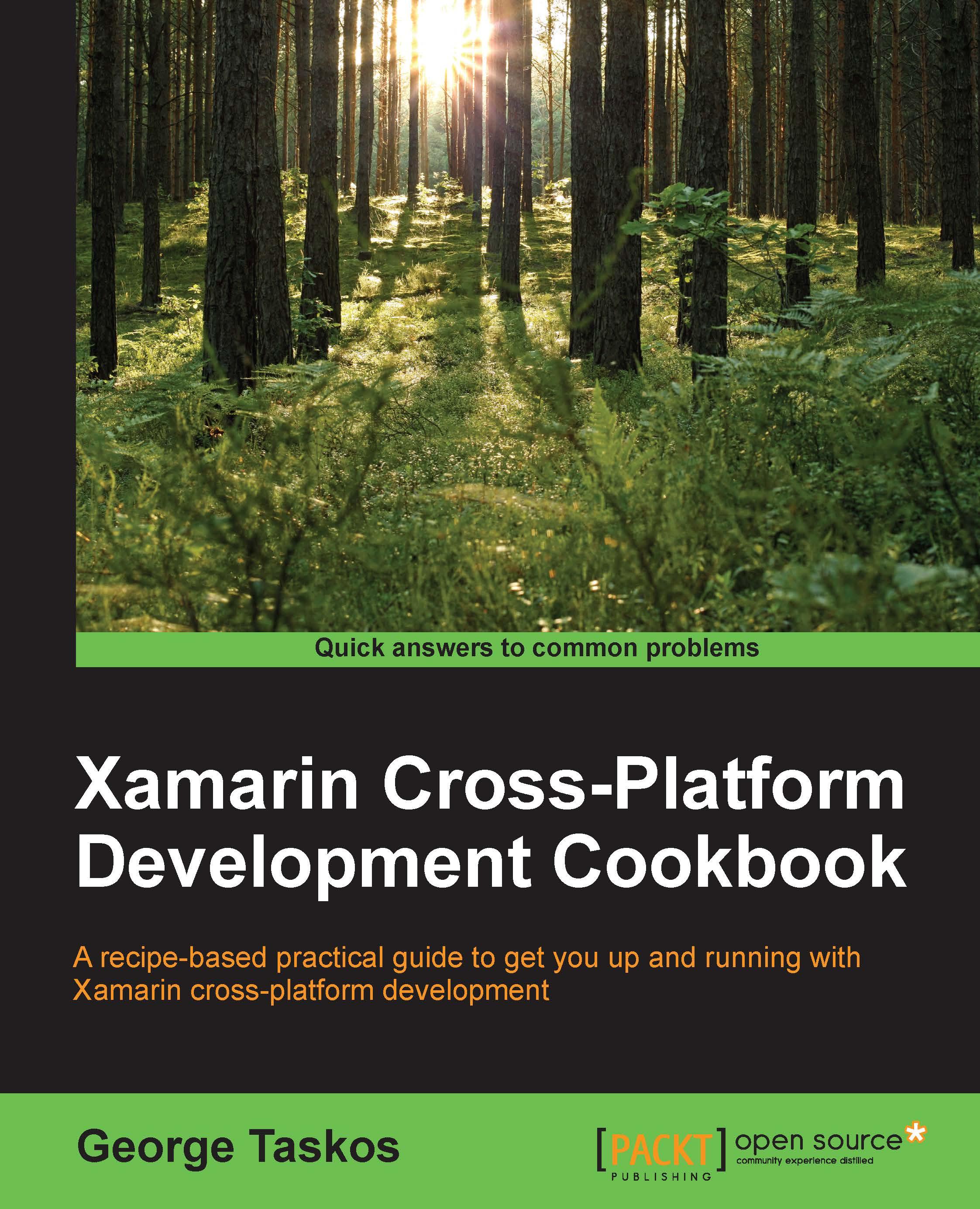 Xamarin Cross-Platform Development Cookbook (1st Edition)