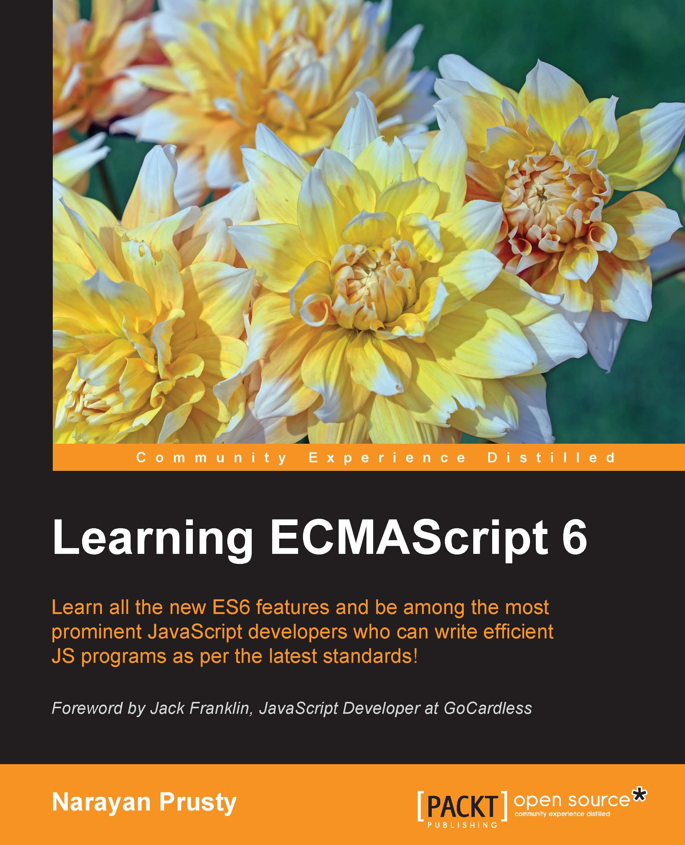 Learning ECMAScript 6 by Narayan Prusty   PDF, eBook   Read