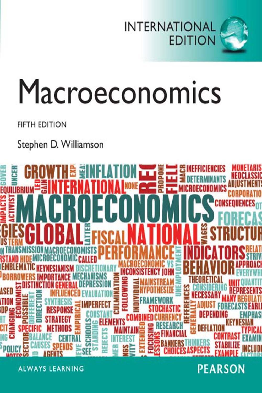 Macroeconomics, International Edition by Stephen D