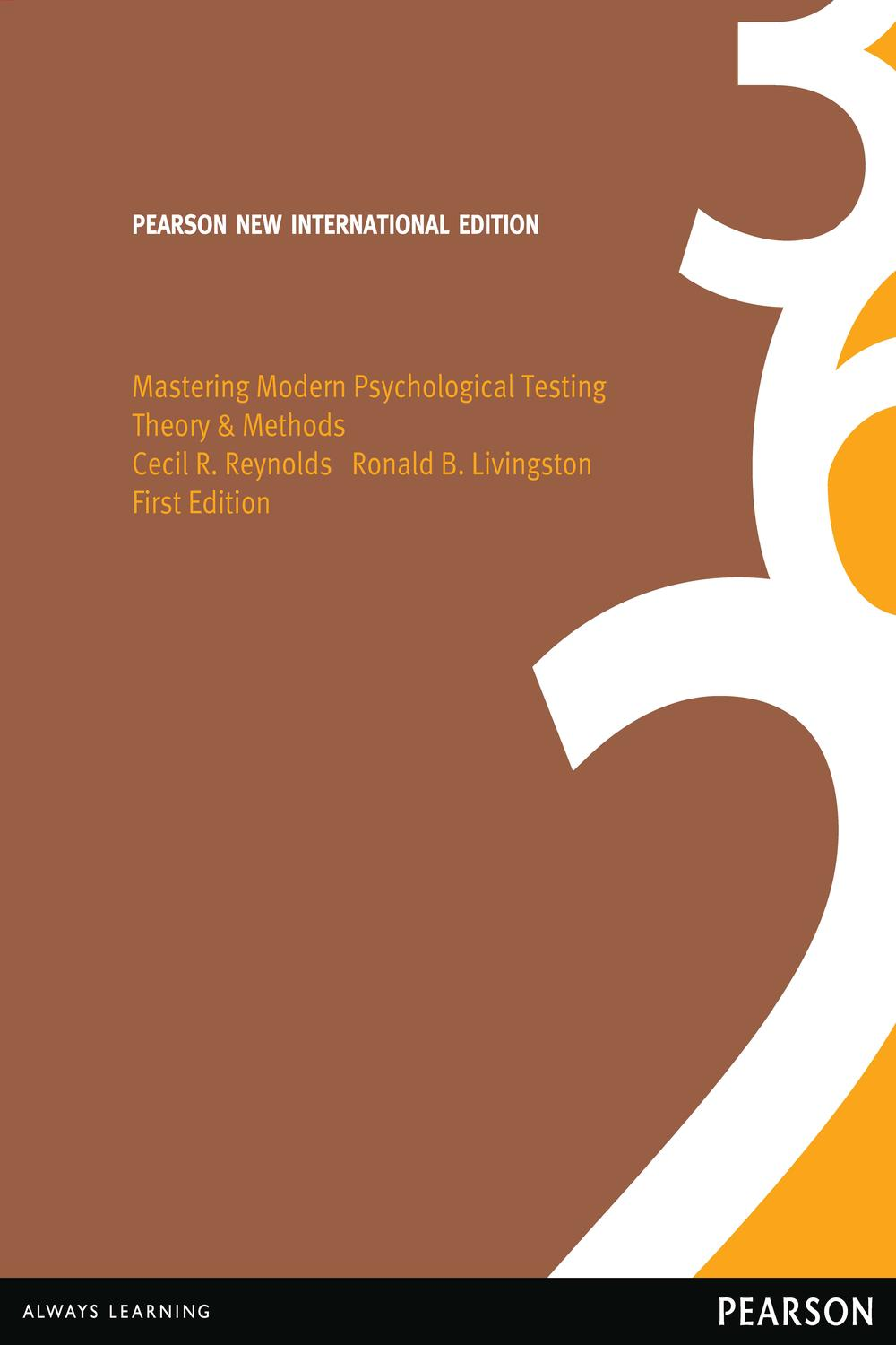 Mastering Modern Psychological Testing: Pearson New International