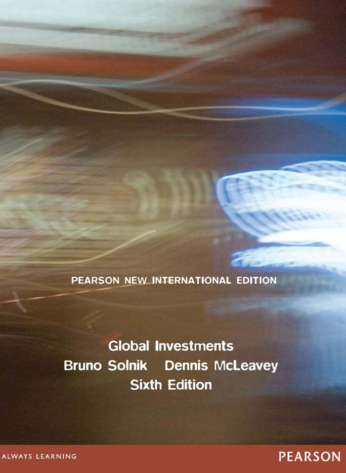 Global Investments: Pearson New International Edition by Bruno