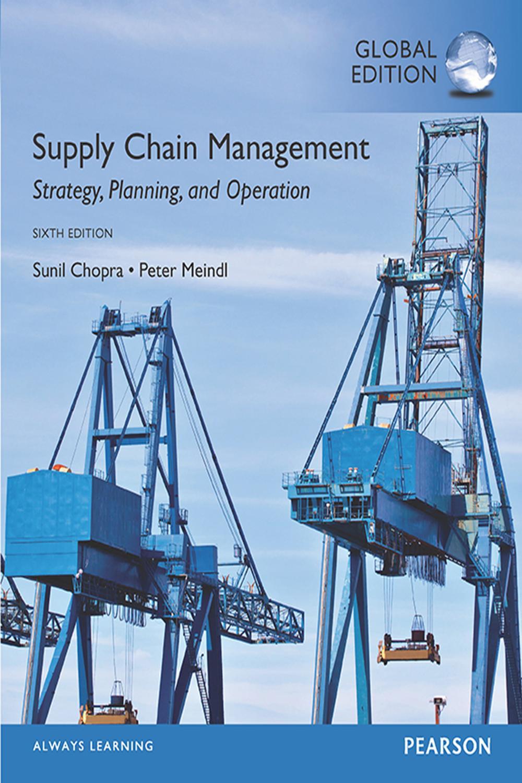 Strategic Supply Chain Management Pdf
