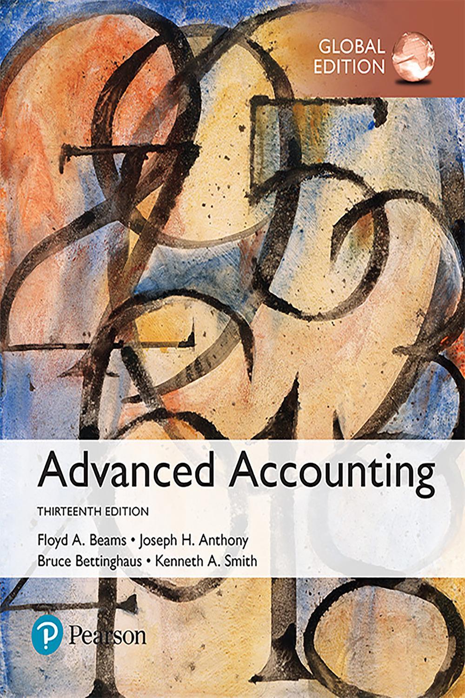 Pdf Advanced Accounting Global Edition By Floyd A Beams Joseph H Anthony Bruce Bettinghaus Kenneth Smith Perlego