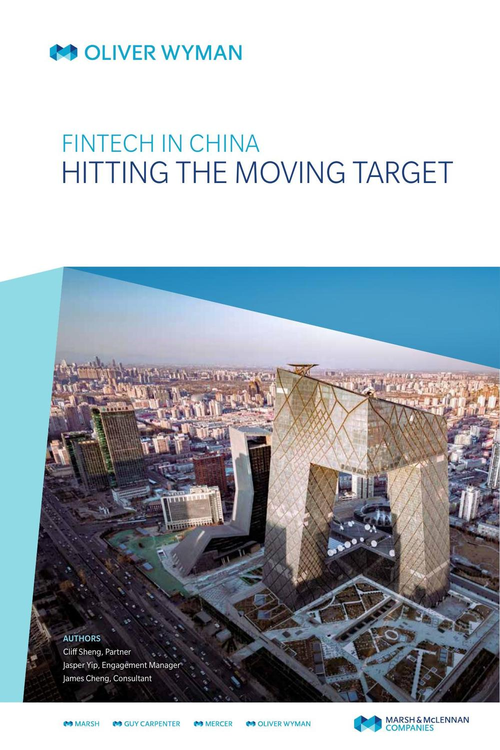 Fintech In China: Hitting The Moving Target by | Read online