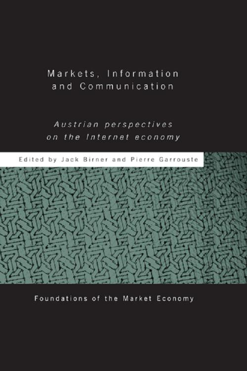 Markets, Information and Communication