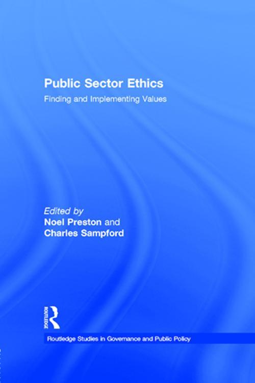 Public Sector Ethics