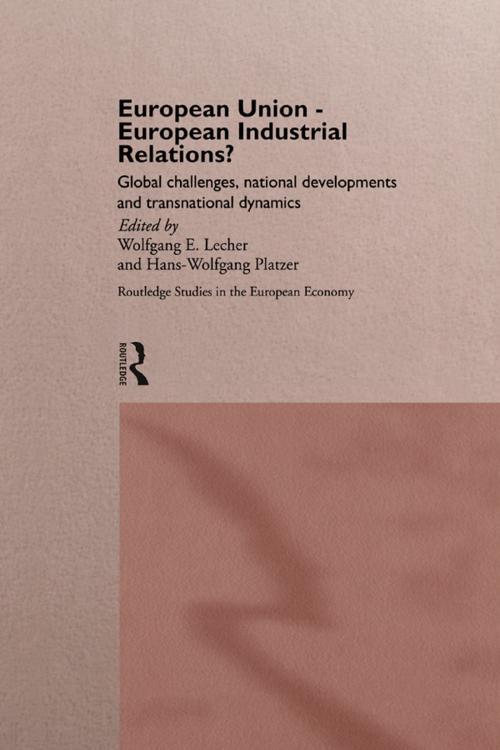 European Union - European Industrial Relations?