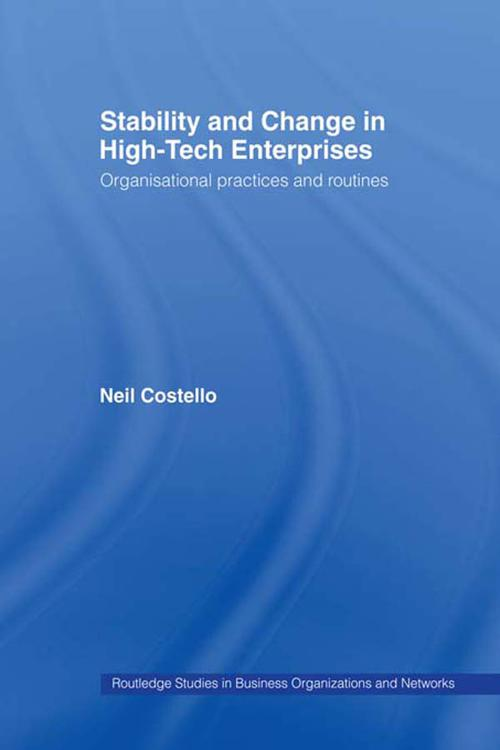 Stability and Change in High-Tech Enterprises