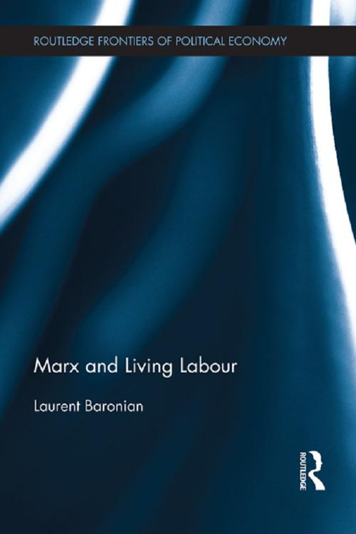 Marx and Living Labour