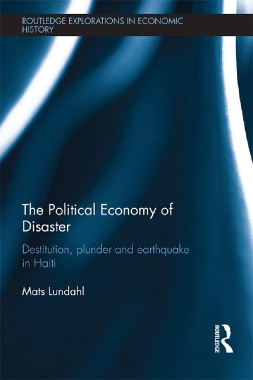 The Political Economy of Disaster