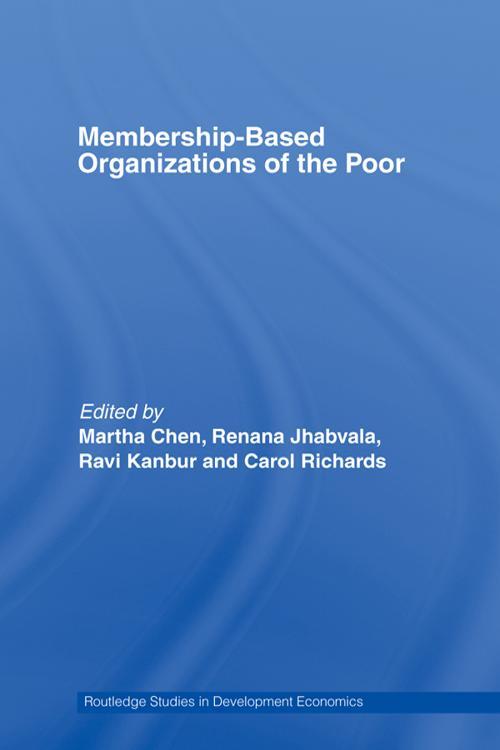 Membership Based Organizations of the Poor