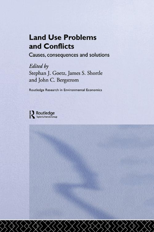 Land Use Problems and Conflicts