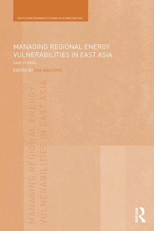Managing Regional Energy Vulnerabilities in East Asia