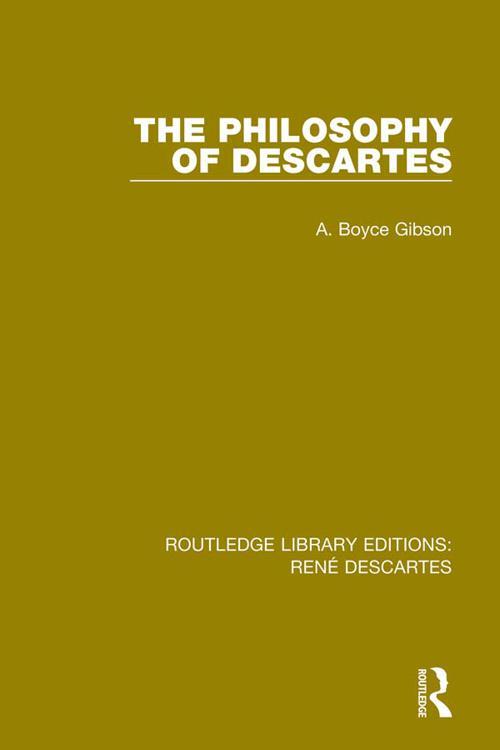 The Philosophy of Descartes