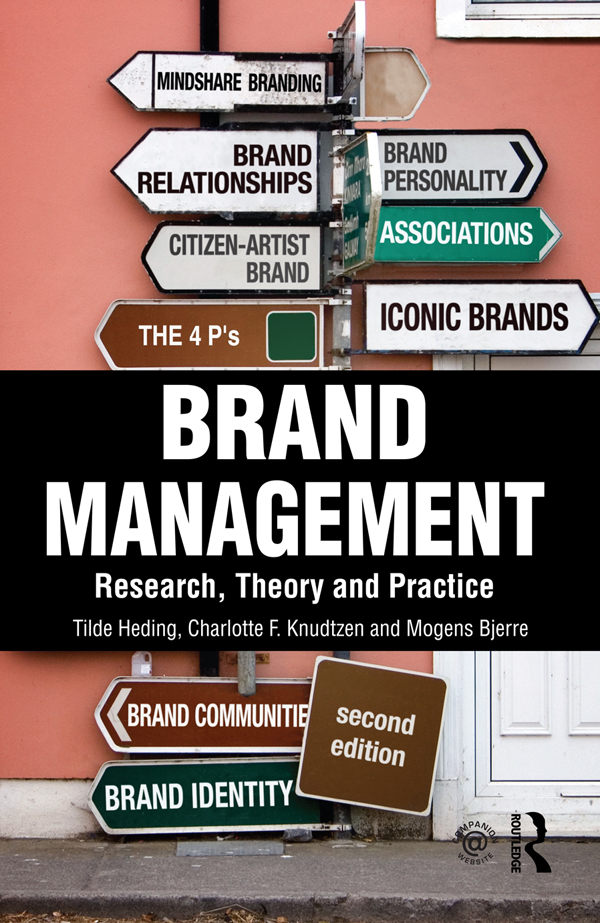 Pdf Brand Management By Tilde Heding Charlotte Knudtzen Mogens Bjerre Perlego
