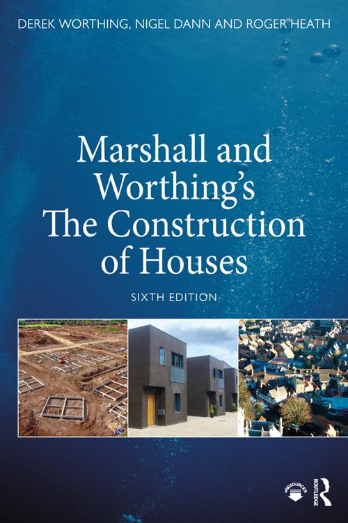 Marshall and Worthing's The Construction of Houses