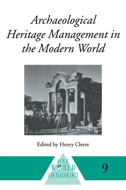 Archaeological Heritage Management
