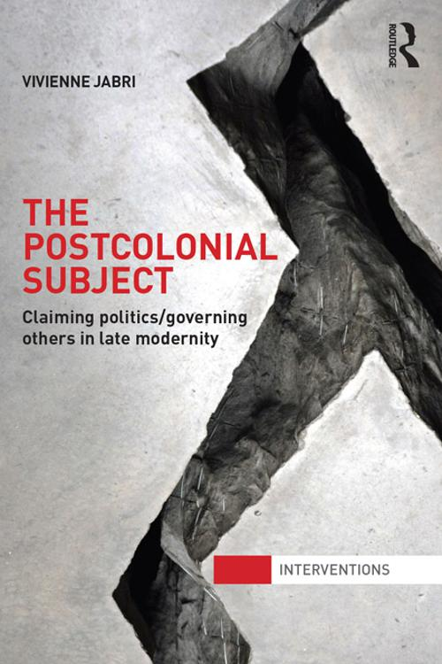 The Postcolonial Subject