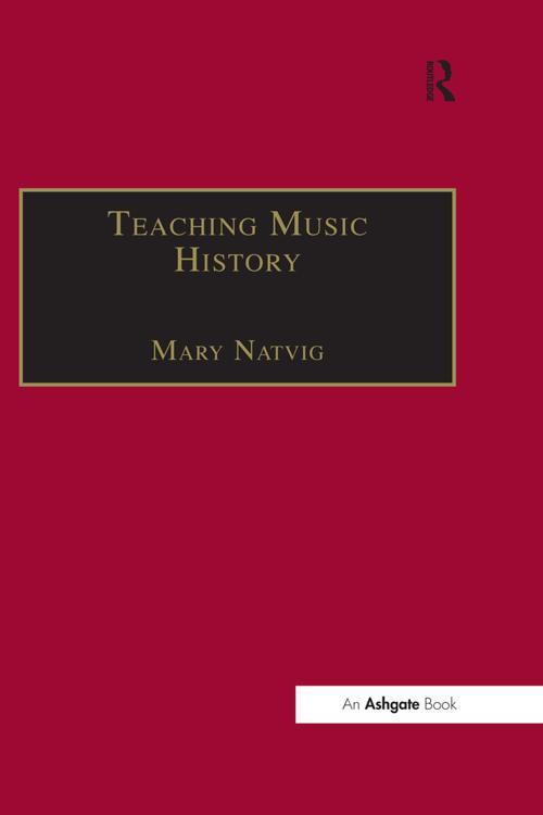 Teaching Music History