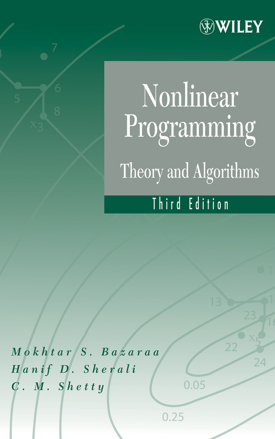 bazaraa linear programming solution manual pdf